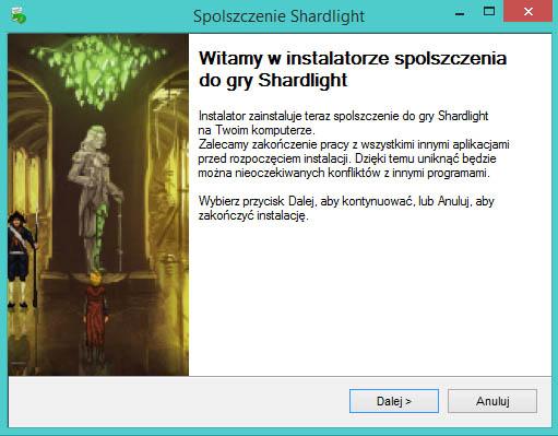 Shardlight spolszczenie