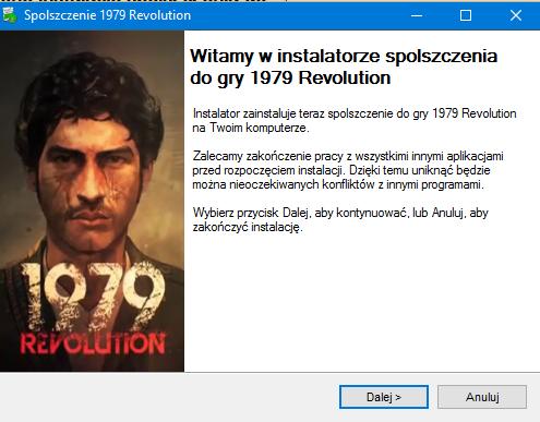 1979 Revolution spolszczenie