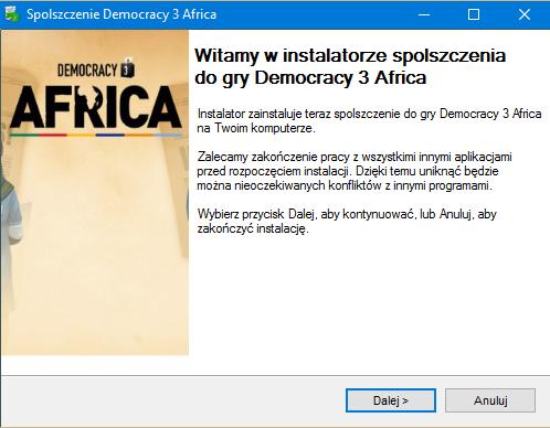 Democracy 3 Africa spolszczenie