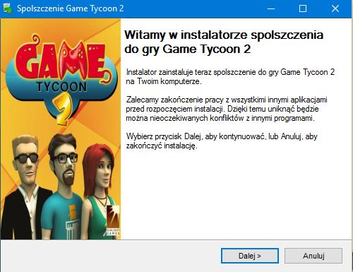 Game Tycoon 2 spolszczenie