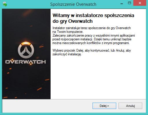 Overwatch spolszczenie