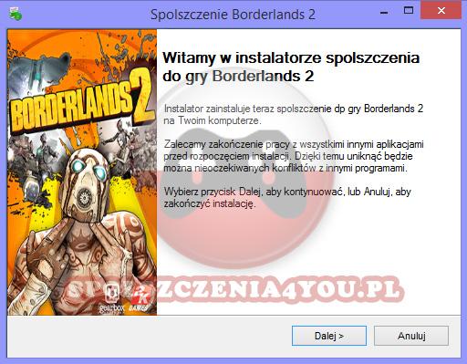 Borderlands 2 Spolszczenie