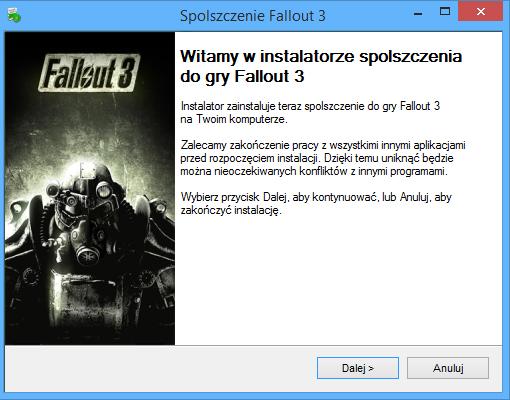 Fallout 3 Spolszczenie
