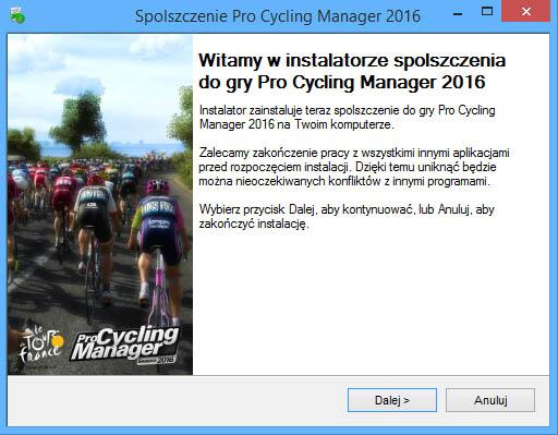 Pro Cycling Manager 2016 spolszczenie