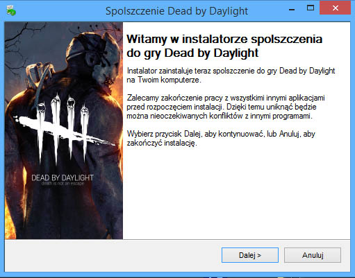 Dead by Daylight spolszczenie