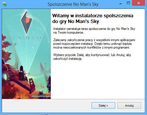 No Man's Sky Spolszczenie