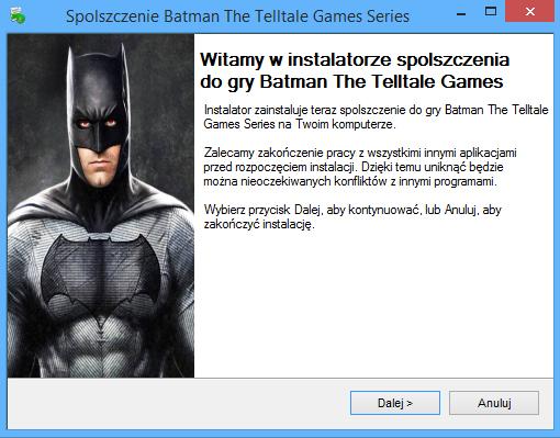 Batman The Telltale Games Series spolszczenie