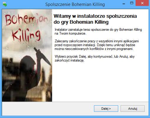 Bohemian Killing spolszczenie