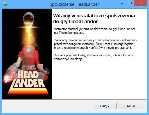 HeadLander spolszczenie