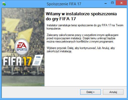 FIFA 17 spolszczenie