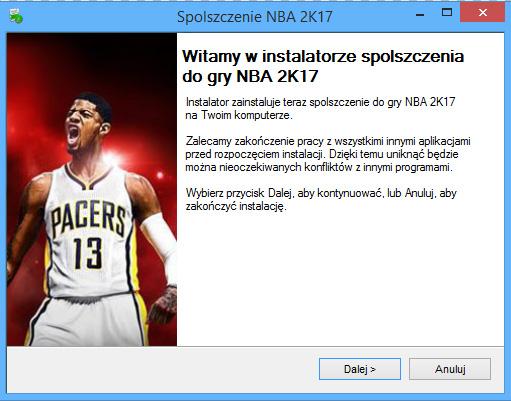 NBA 2K17 spolszczenie