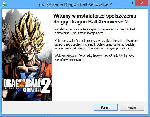 Dragon Ball Xenoverse 2 Spolszczenie
