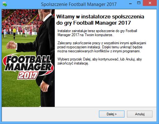 Football Manager 2017 spolszczenie
