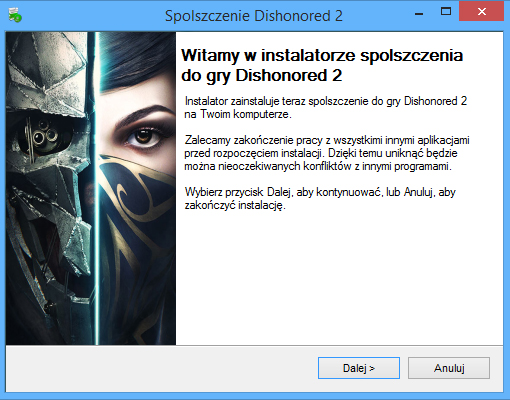 Dishonored 2 Spolszczenie