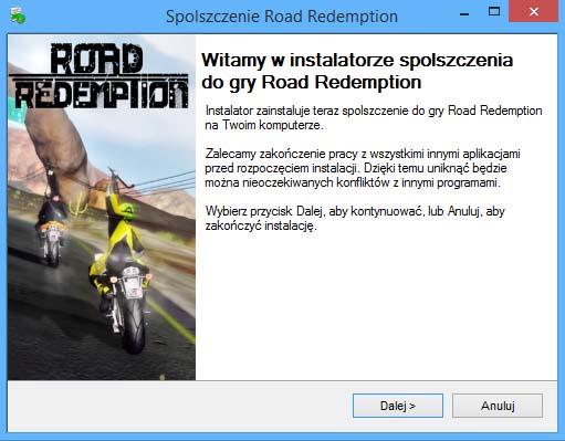 Road Redemption spolszczenie