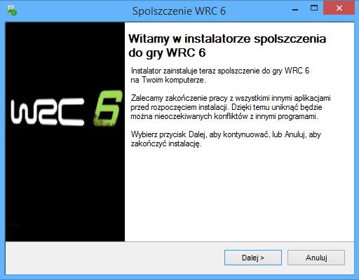 WRC 6 Spolszczenie