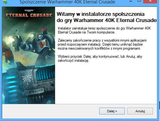 Warhammer 40K Eternal Crusade spolszczenie