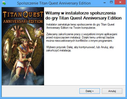 Titan Quest Anniversary Edition spolszczenie