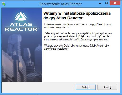 Atlas Reactor spolszczenie