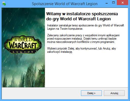 World of Warcraft: Legion spolszczenie
