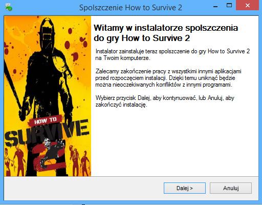 How to Survive 2 spolszczenie