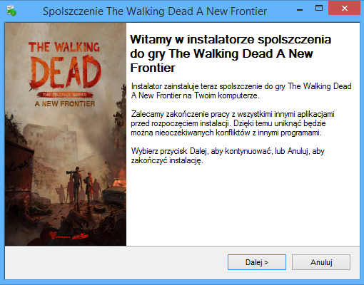 The Walking Dead A New Frontier spolszczenie