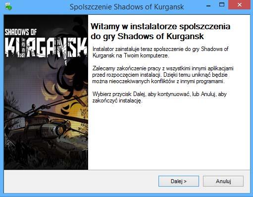 Shadows of Kurgansk spolszczenie