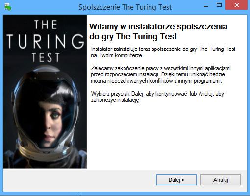 The Turing Test spolszczenie