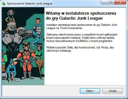 Galactic Junk League spolszczenie
