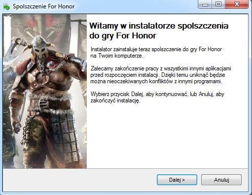 For Honor spolszczenie