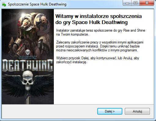 Space Hulk Deathwing spolszczenie