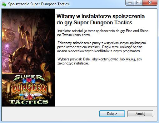 Super Dungeon Tactics spolszczenie