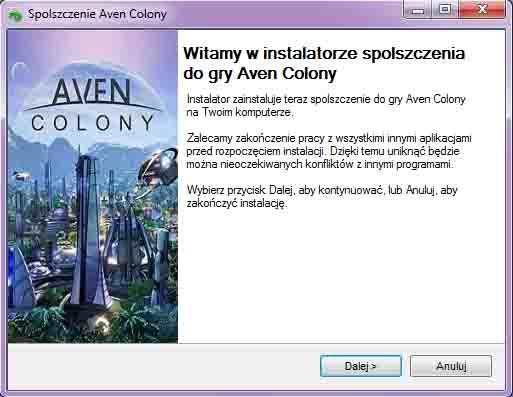 Aven Colony spolszczenie