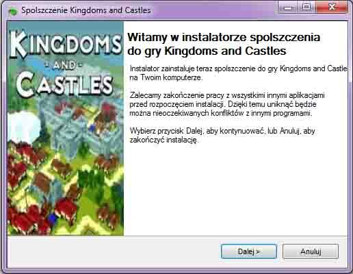Kingdoms and Castles Spolszczenie