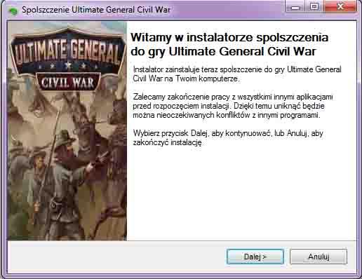 Ultimate General Civil War spolszczenie