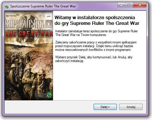 Supreme Ruler The Great War spolszczenie