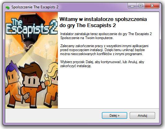 The Escapists 2 spolszczenie