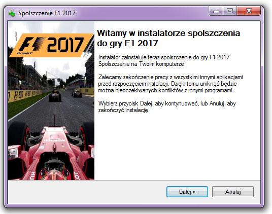 F1 2017 Spolszczenie