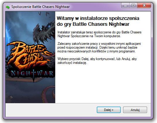 Battle Chasers Nightwar Spolszczenie