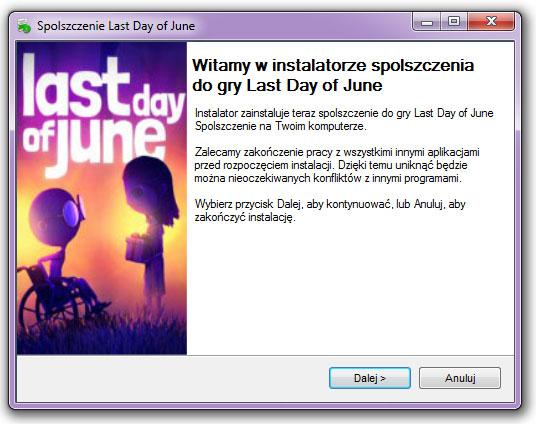 Last Day of June spolszczenie