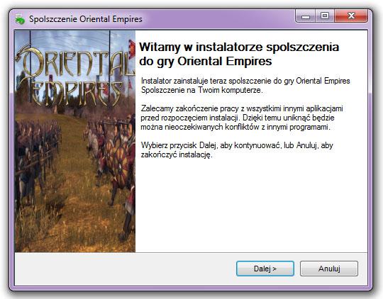 Oriental Empires Spolszczenie