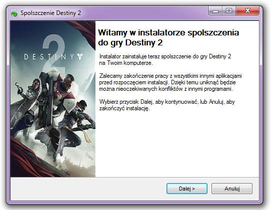 Destiny 2 Spolszczenie