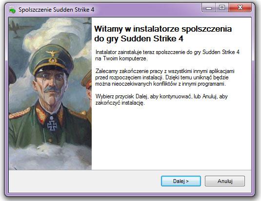 Sudden Strike 4 spolszczenie