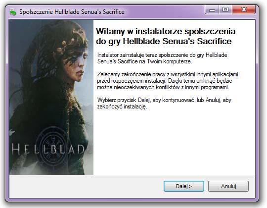 Hellblade Senua's Sacrifice spolszczenie