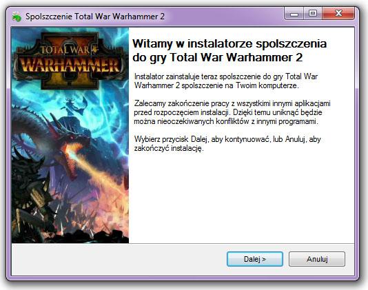 Total War Warhammer 2 Spolszczenie