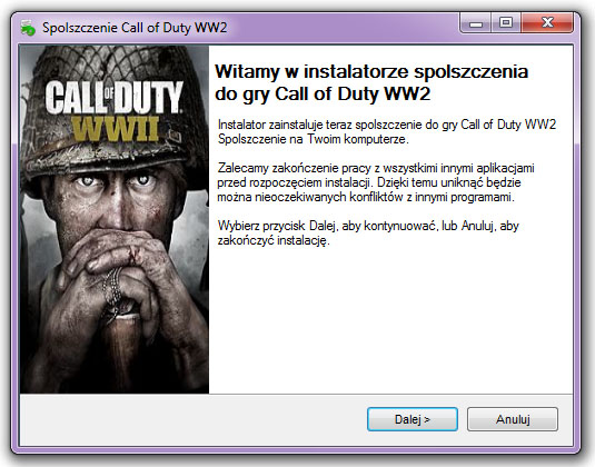 Call of Duty WW2 spolszczenie