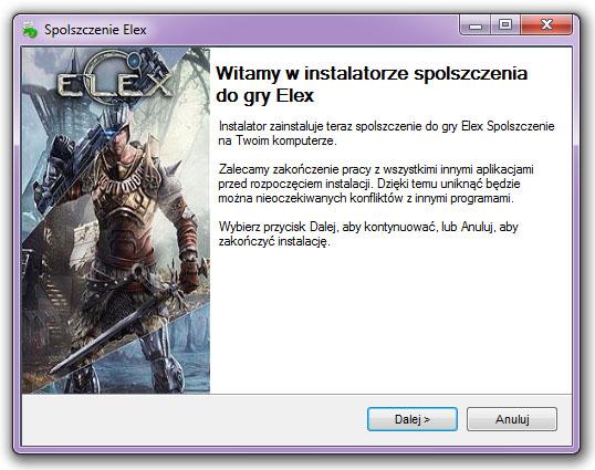 ELEX Spolszczenie