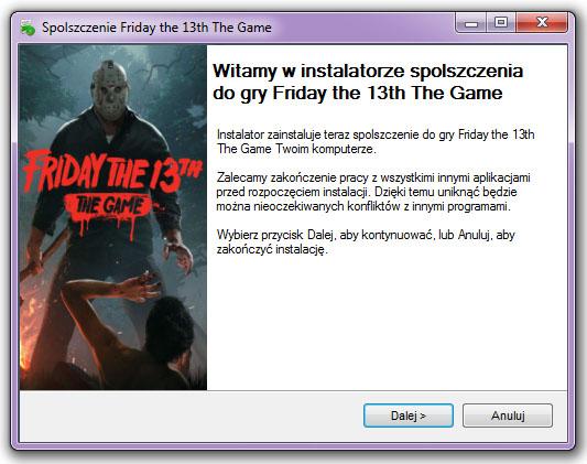 Friday the 13th The Game Spolszczenie