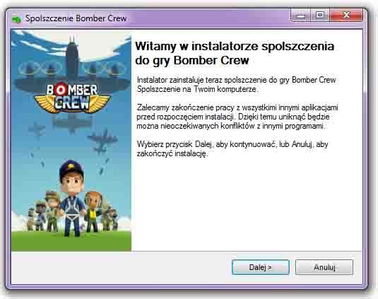 Bomber Crew spolszczenie
