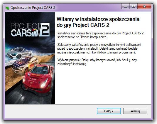 Project CARS 2 spolszczenie